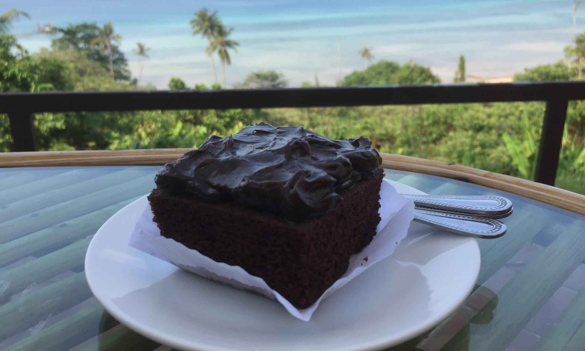 Thaimaan Koh Makin ihanin kahvila